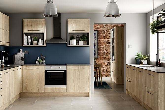 Richmond Oak Kitchen Range