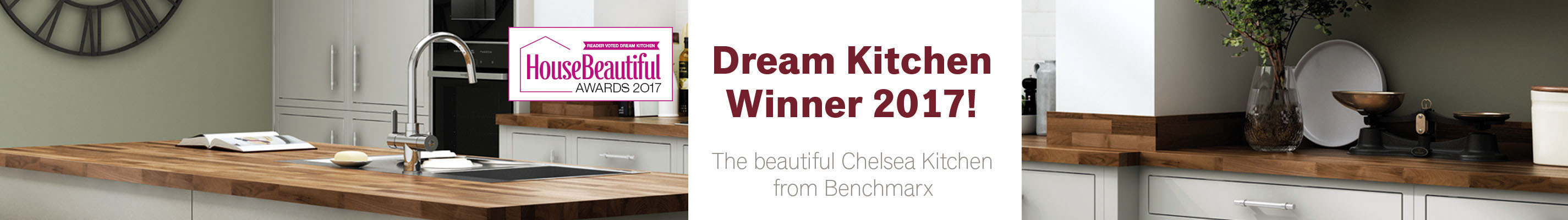Dream Kitchen Winner 2017! Find out more