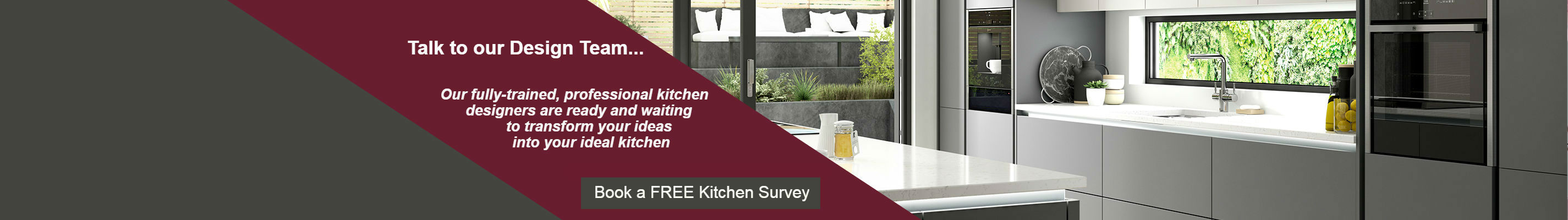 Book a FREE Kitchen Survey