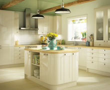 Turin family kitchen range