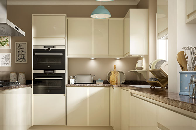 Soho Gloss Cream Kitchen Range
