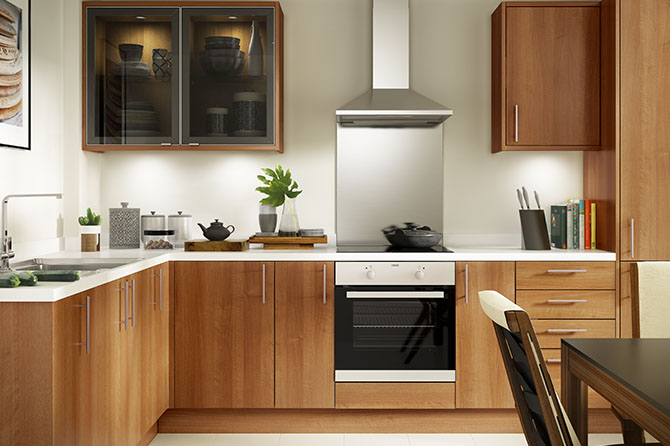 Options Walnut Kitchen Range