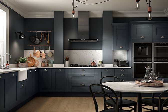 Sherwood Charcoal Kitchen Range