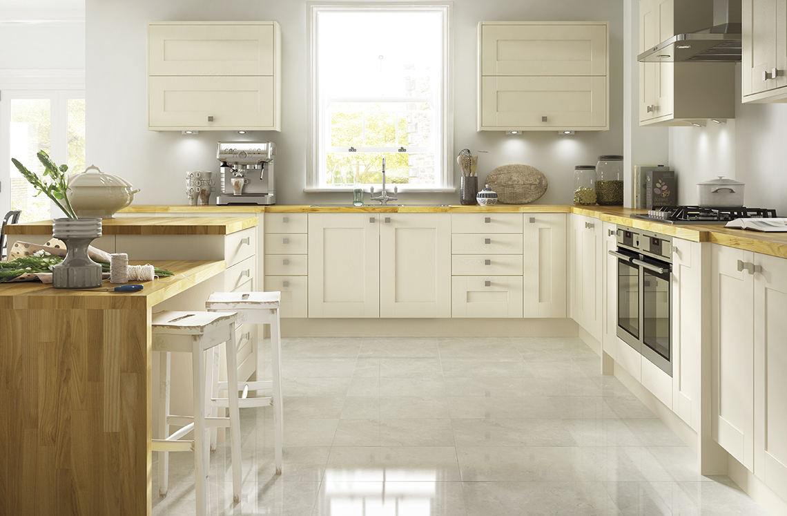 Shaker Style Kitchens UK | Somerset Range | Benchmarx | Benchmarx ...