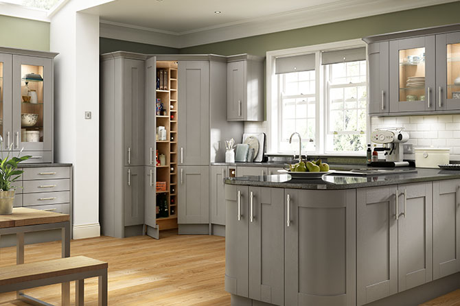 Somerset Grey Kitchen Range