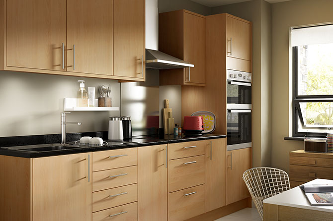 Options Beech Kitchen Range