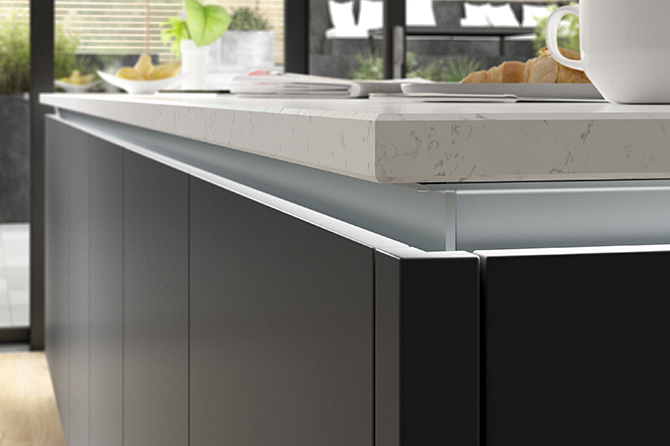 Eton Matt Carbon Kitchen Kitchen Range