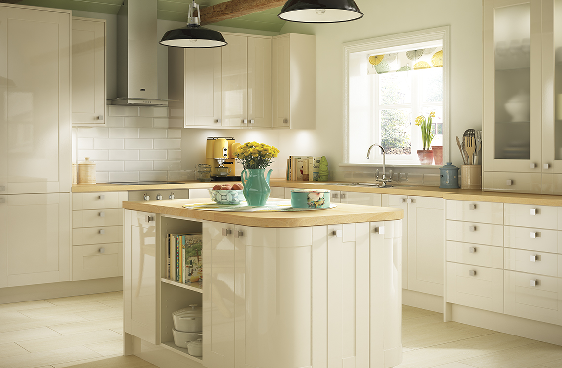 modern cream kitchen cabinets simple style kitchens turin range benchmarx 23492