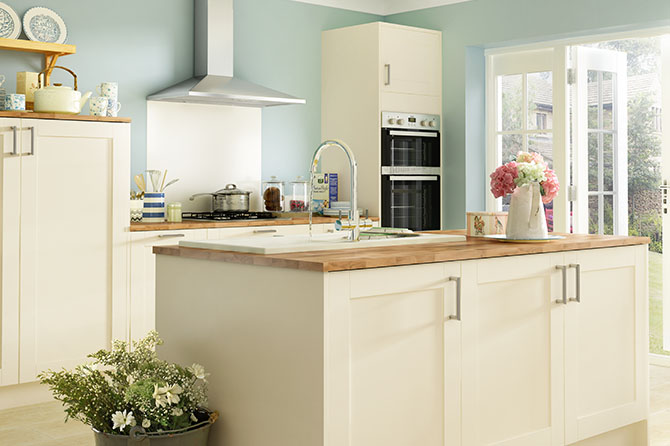 Oxford Cream Kitchen Range