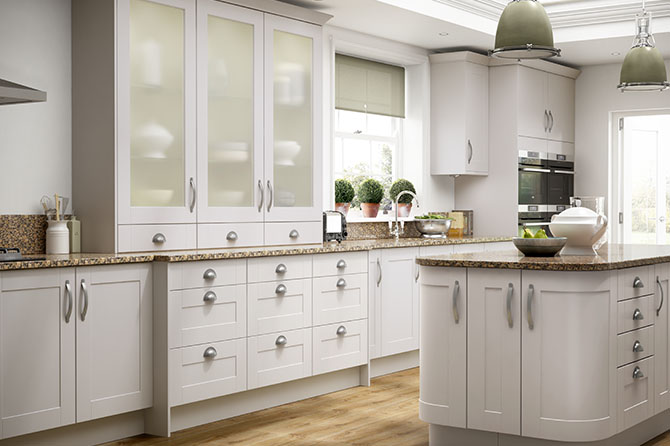 Turin Matt Cashmere Kitchen Range